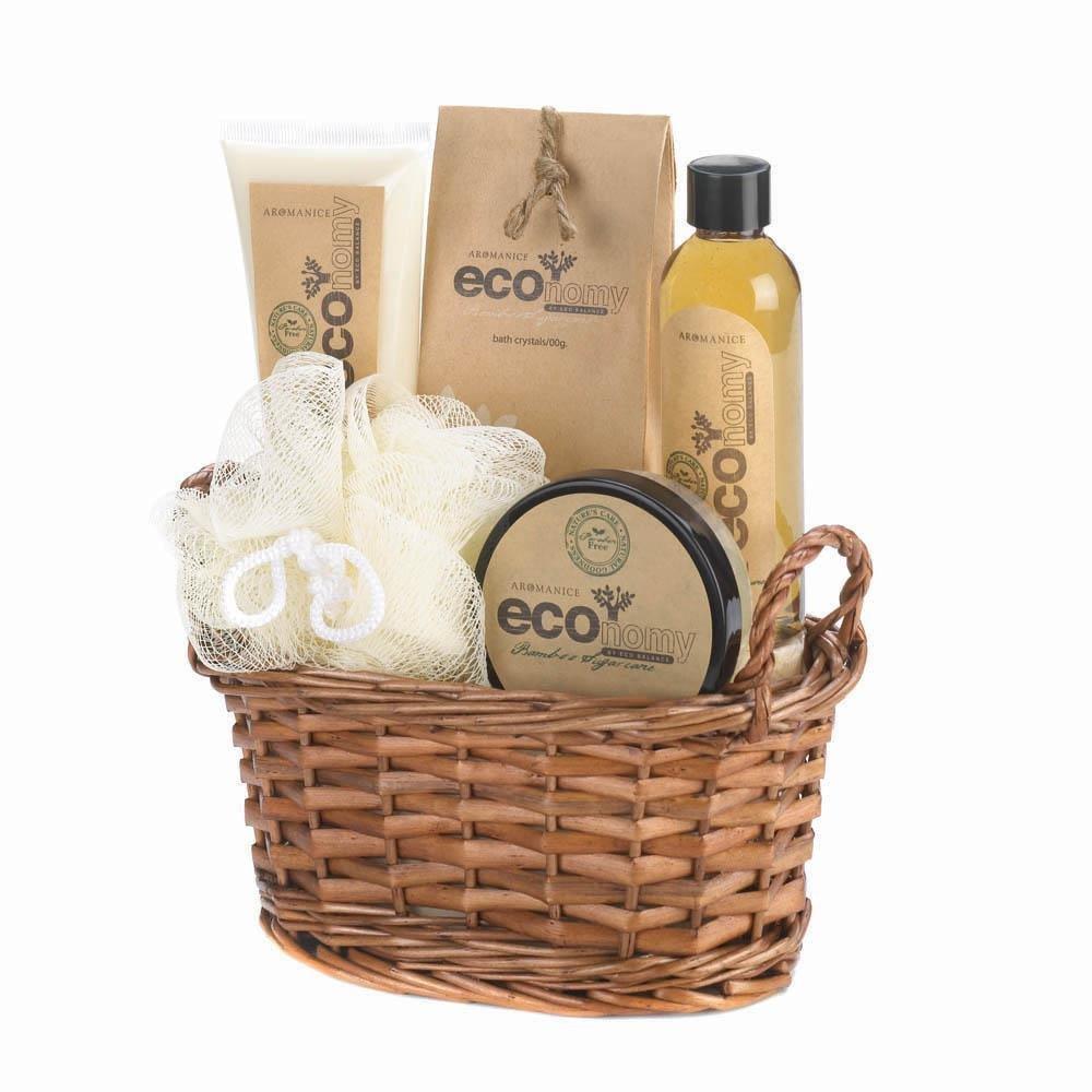 Spa Pleasures Eco-nomy Bath Spa Basket