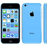 "Apple iPhone 5C 4.0"" 8GB/16GB/32GB GSM ""Factory Unlocked"" Smartphone Cell Phone 5 Colors (Certified Refurbished) (Blue - 8G)"