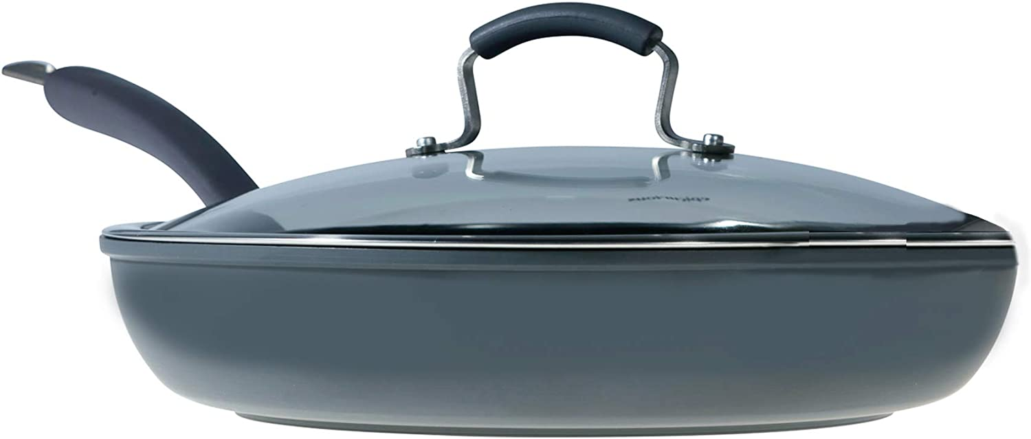 Epicurious Cookware Collection- Dishwasher Safe Oven Safe, Nonstick Hard Anodized 13