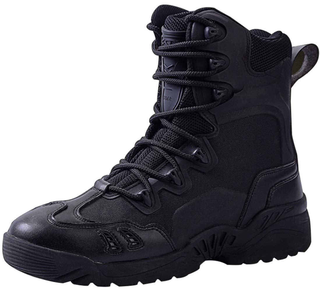 RSHENG Schuhe Stiefel Für Männer Militärstiefel Wüste Wandern Leichte Freizeitschuhe Im Freien Leichte Hilfe