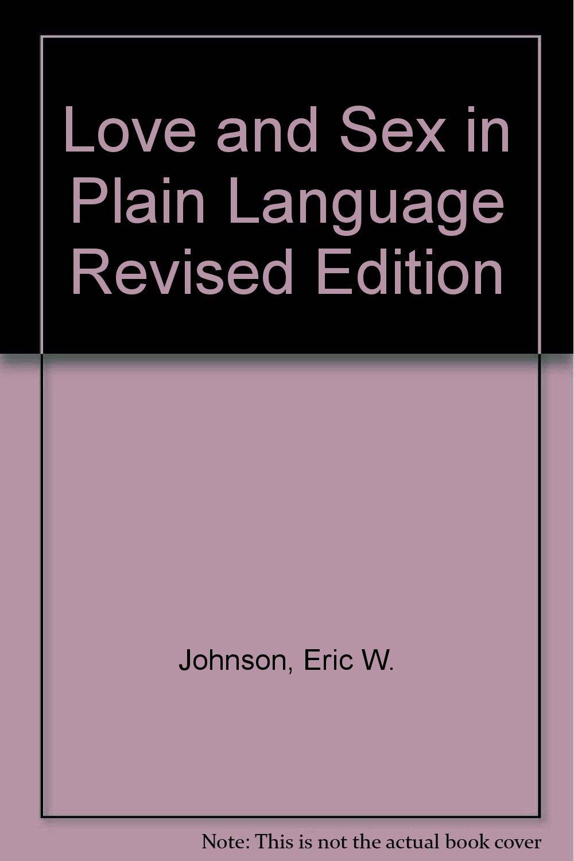 In language love plain sex