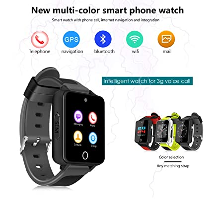 Lorenlli Fit S9 Smart Watch 1.54 Pulgadas 3G Smart Watch Fit ...