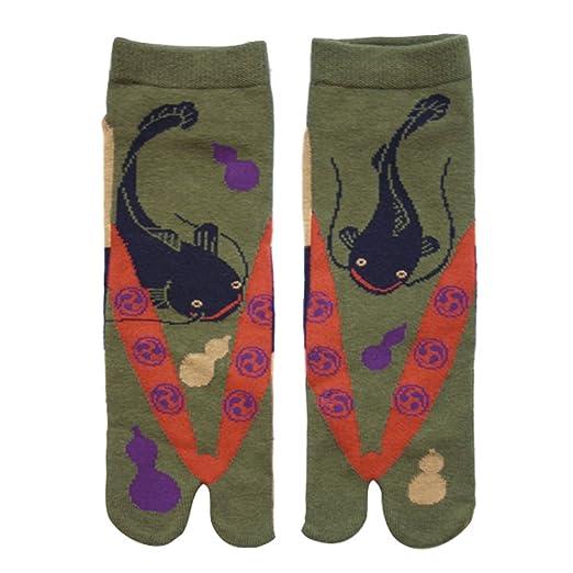 Japanese Samurai Ninja Tabi Socks; Catfish