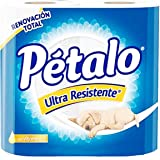 Petalo Petalo Papel Higienico Ultra Resistente 300 Hd 4 Pz, color, 300 count, pack of/paquete de