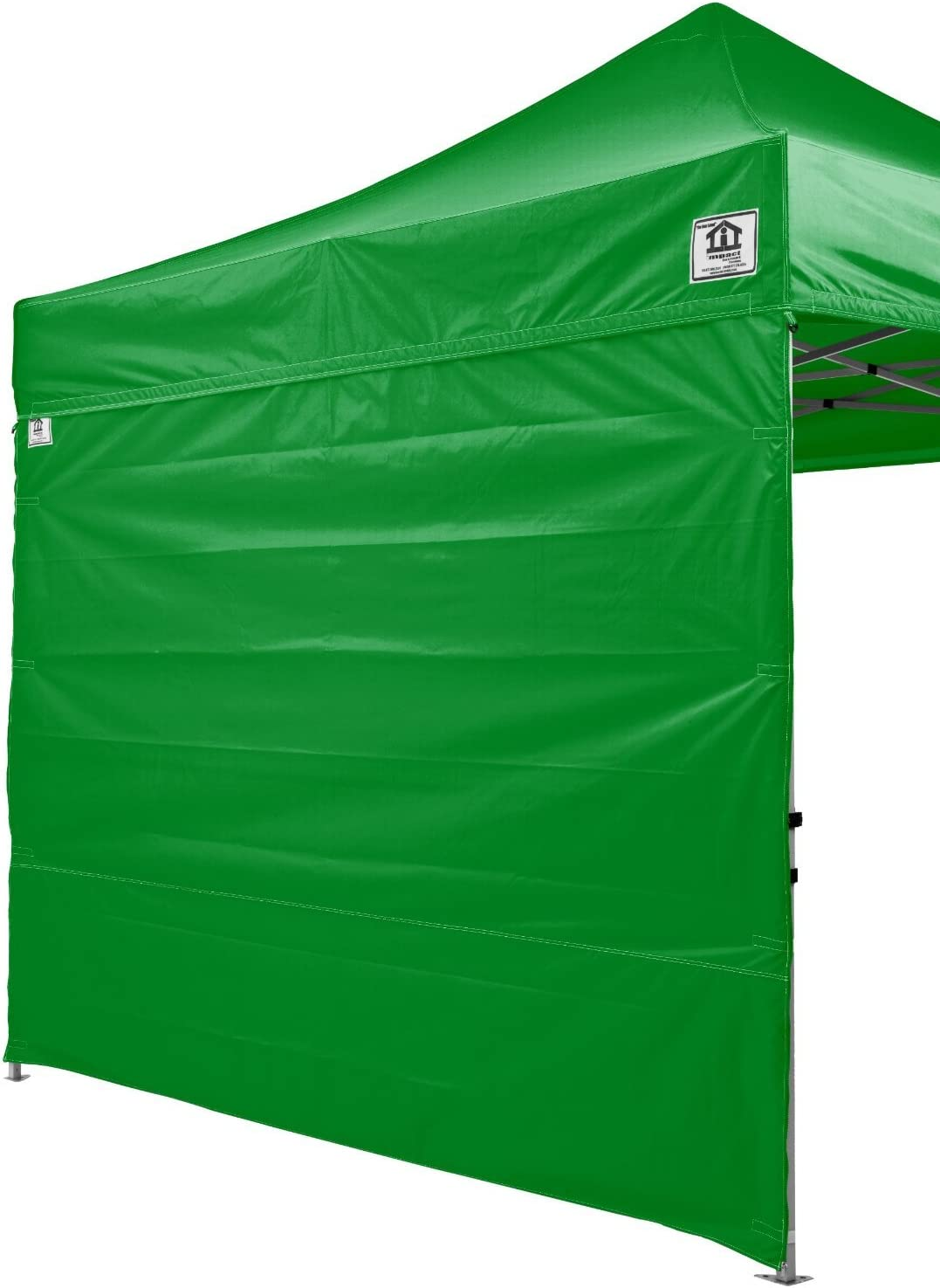 Impact Canopy 10x10 Canopy Tent Solid Sidewalls/White Screen Room Sidewalls Combo Pack (Kelly Green)