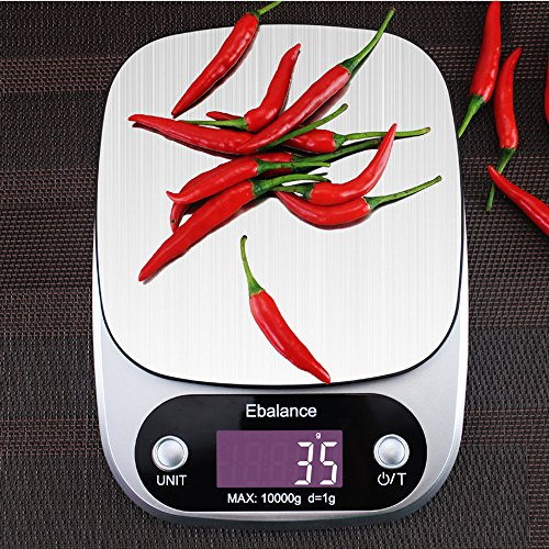 10Kg X 1g Digital Electronic Food Weight Scale Balance() - 8