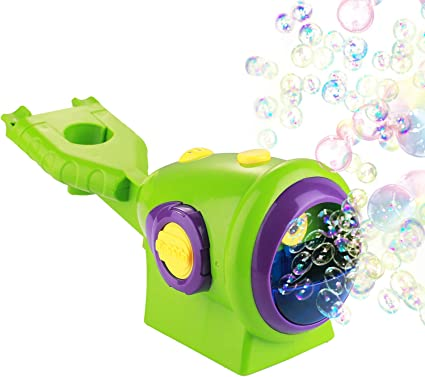Automatic Durable Bubble Blower for Kids Portable Bubble Maker 2000+ Bubbles Per Minute Simple and Easy to Use for Party Bubble Toys Auney Bubble Machine