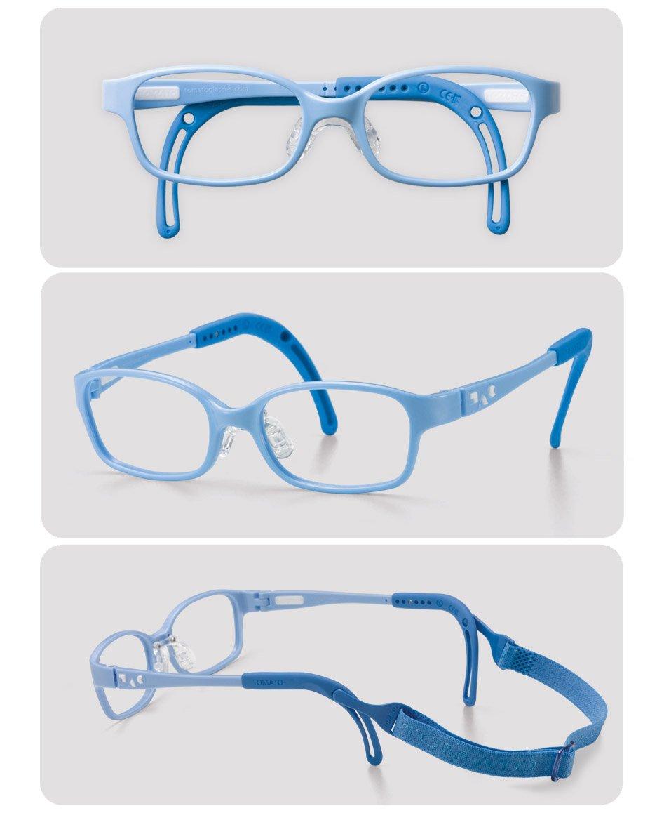 Tomato Glasses Frame Specialized for Kids (TKCC11) (46 ㅁ 17)