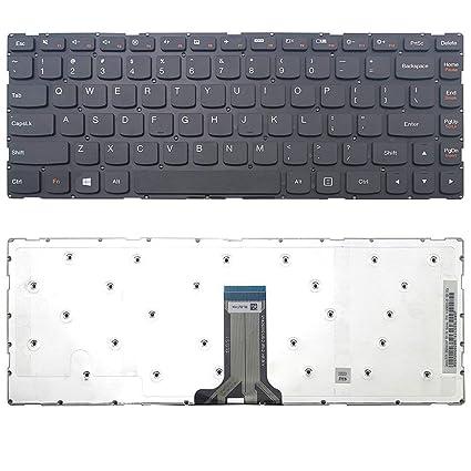 Amazon.com: New US Black Laptop Keyboard for Lenovo IdeaPad ...