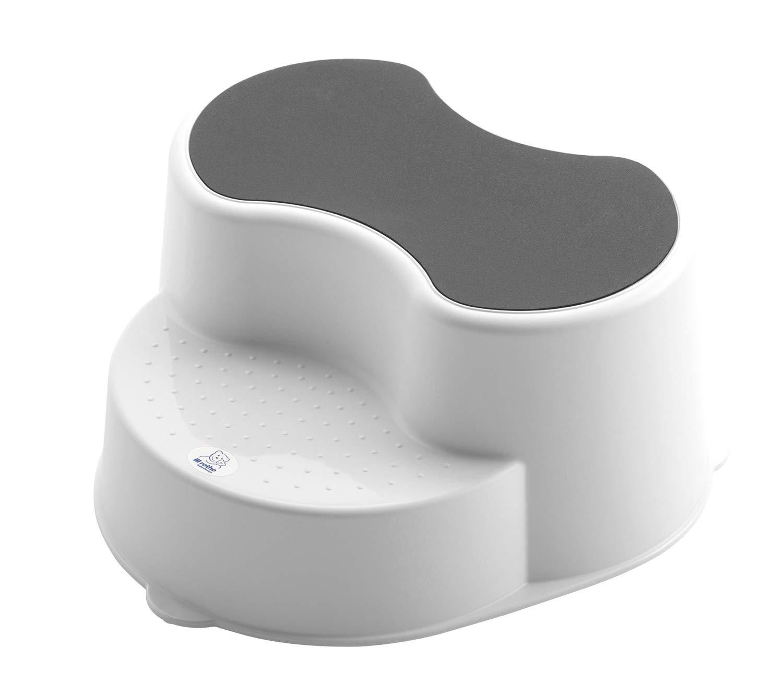 Rotho Baby Design Top Line Step Stool, White Guzzie + Guss 20005-0001