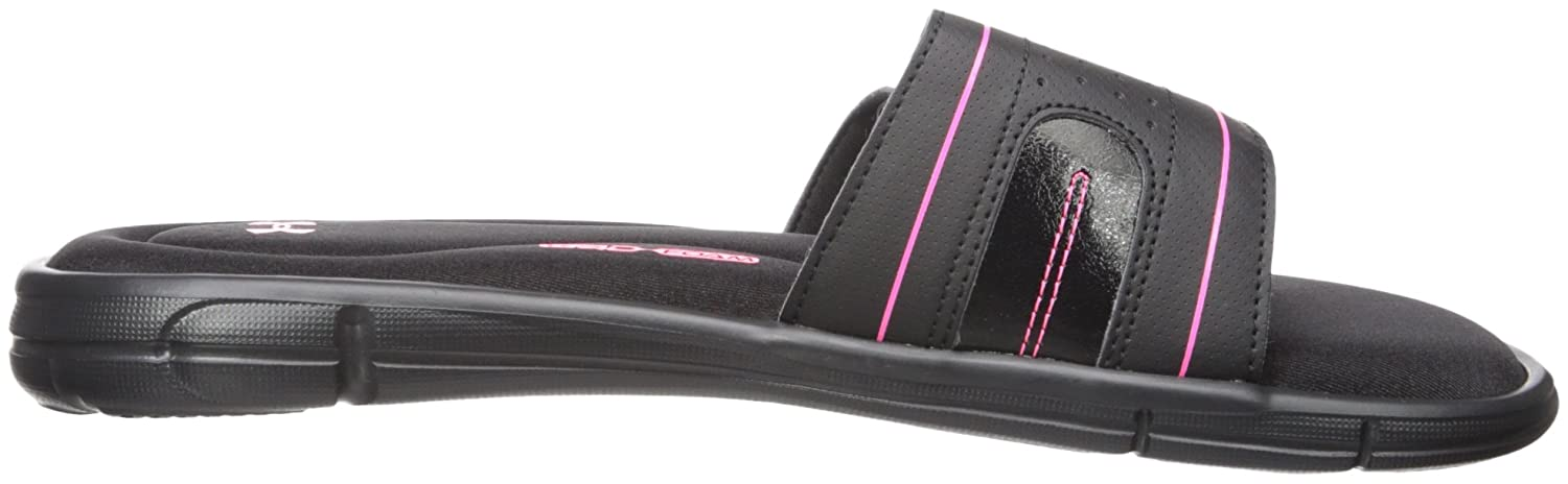 Under Armour Women's Ignite 12 VIII Slide Sandal B01GSYW89M 12 Ignite M US|Black (006)/Cerise b84d40