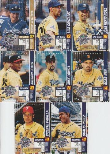 2002 MLB Showdown Baseball All-Star Game 8 Card Lot Robin (2002 Mlb All Star Game)