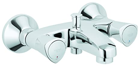 Super GROHE Mischbatterie für Badewanne/Dusche, Costa S 25483001 (aus DG17