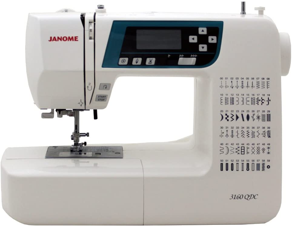 Fully automatic model: Janome 3160QDC Computerized Sewing machine