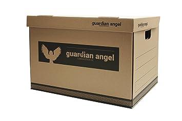 Papel Caja de almacenamiento para archivadores (tamaño A4: Amazon.es: Oficina y papelería