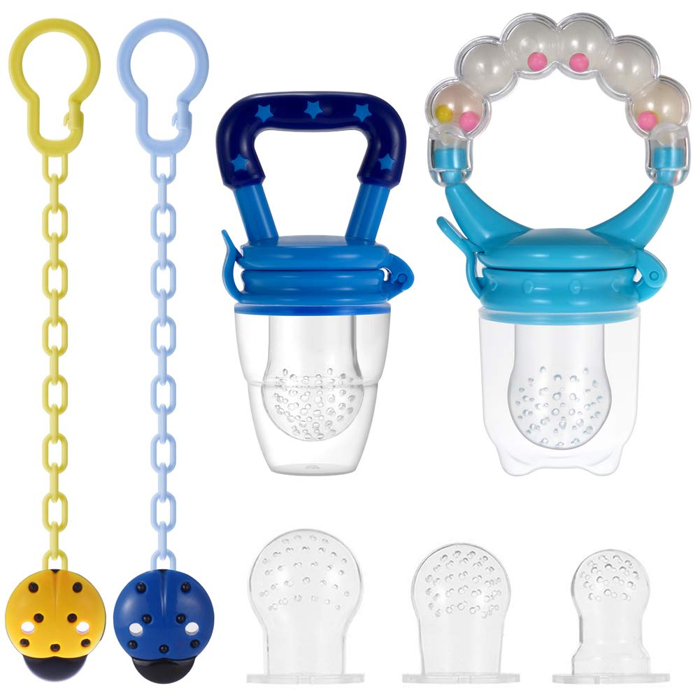 BABY FRUIT FEEDER PACIFIER months 2 PACK 3