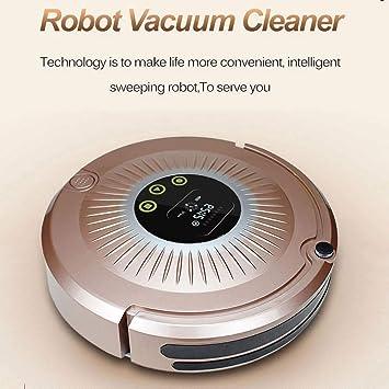 Lu Robot vacío Control Remoto vacío Alfombra y Duro Piso Limpiador Barrer Inteligente robótica Aspirador Inteligente