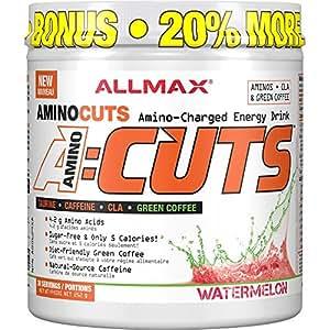 AllMax Amino Cuts - Amino Charged Energy Drink - Watermelon - (36 serve) 252g