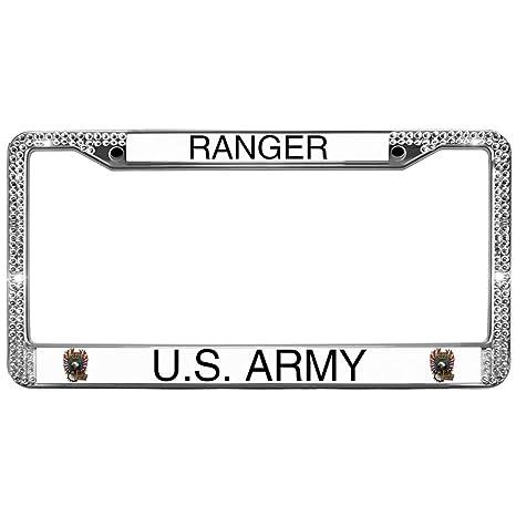 Amazon com: GND Military Sayings Custom License Plate Frame