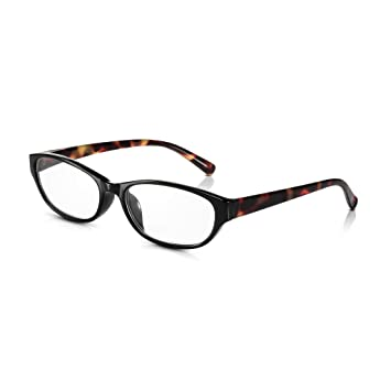 6a34602c91 Read Optics Retro Cats Eye Reading Glasses  +2.5 Womens Easy Reader  Spectacles in Brown