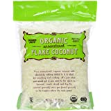 Trader Joe's Organic Pure Unsweetened Coconut Flakes 8oz (1 Pack)