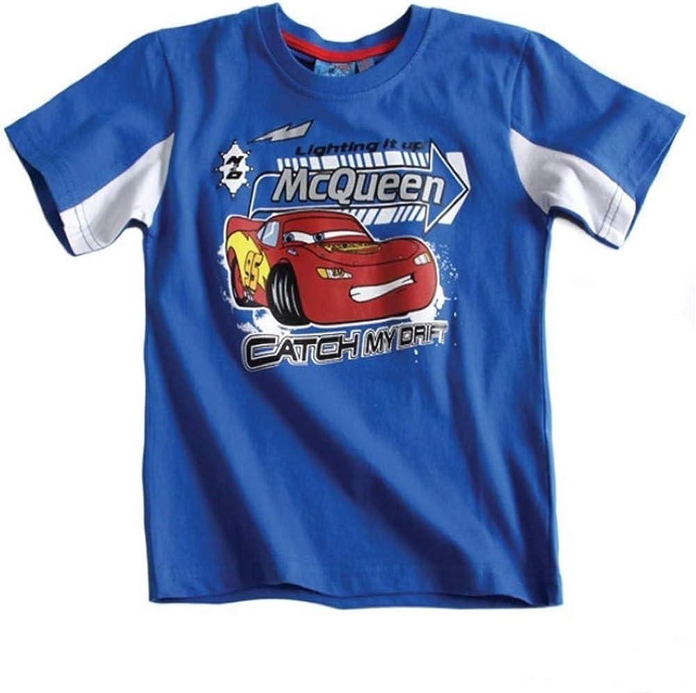 5 Ans Disney T-Shirt /à Manches Courtes Cars