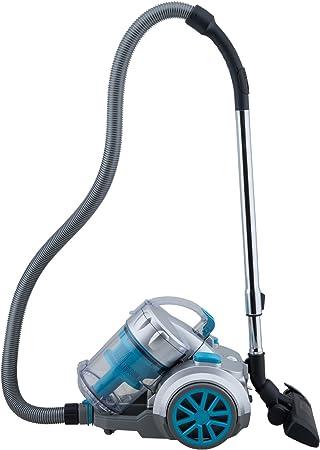 H.Koenig TC34 - Aspirador sin bolsa multiciclónico, Filtro HEPA, color azul [Clase de eficiencia energética A]: Amazon.es: Hogar