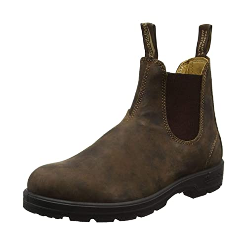 aae23b077228 Blundstone Original Rustic Brown Casual Leather Dress Boots 585 Series 4