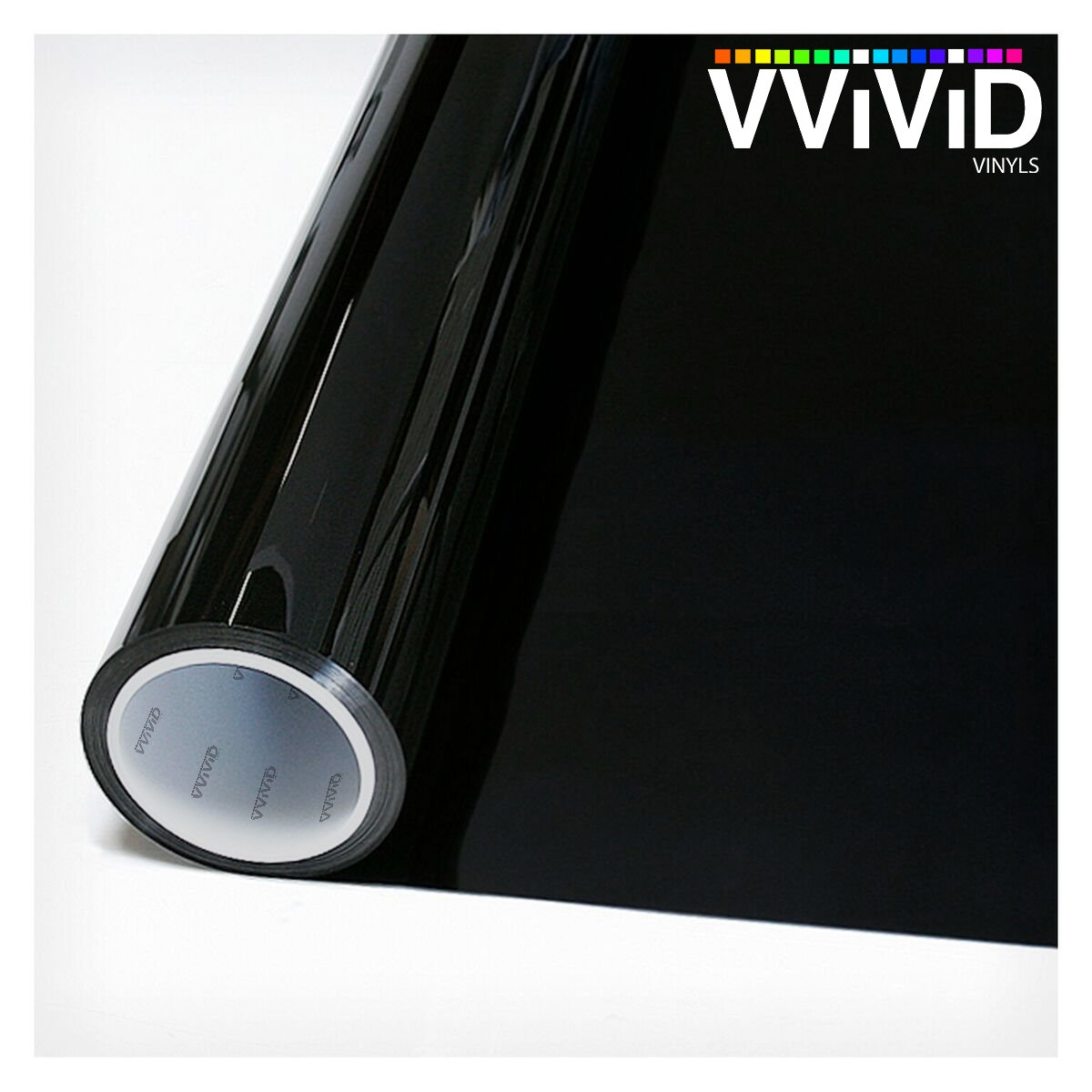 VViViD Matte Blackout Privacy Opaque Window Vinyl Film Decorative Decal for Bathroom, Kitchen, Home, Office DIY Easy to Install Mess-Free Adhesive (60'' x 25ft)