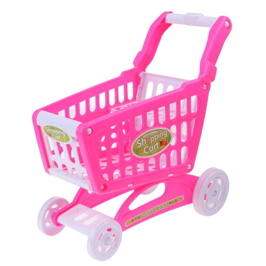 Amazon.es: B Baosity Carro de Supermercado de Plástico Juguete de Fingir para Dolls de 18inchs: Juguetes y juegos