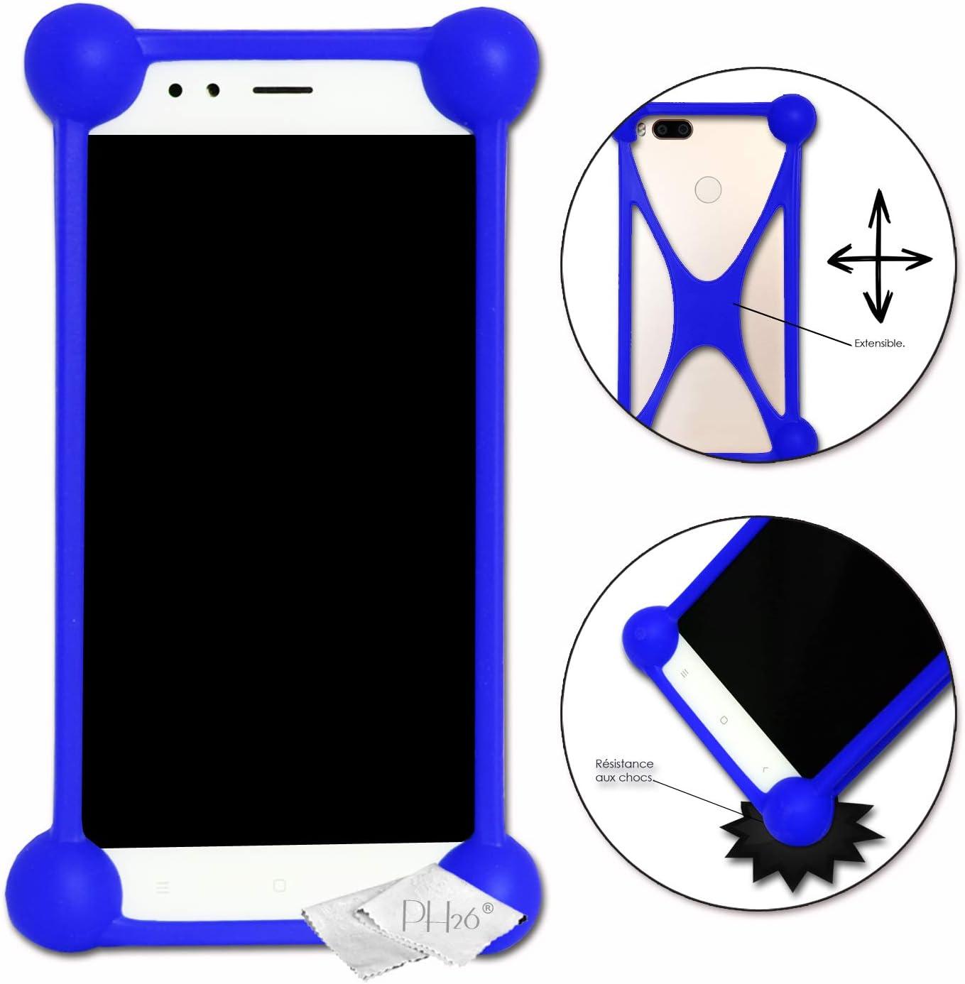 Blue Shockproof Silicone Bumper Case for Acer Liquid Jade Primo PC