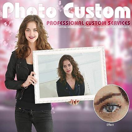 Photo Custom Diamond Painting Cross Stitch Full Square Picture of Rhinestone DIY Diamond Mosaic Diamond Embroidery Sale