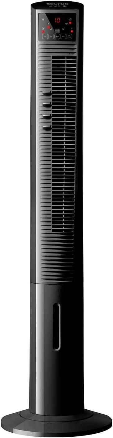 90W Mando a distancia Temporizador 12 horas 120 cm de altura 3 velocidades 3 modos de funcionamiento Ventilador de torre con nebulizador de agua Oscilante Taurus TMF1500