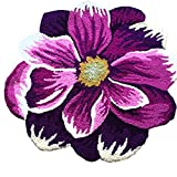 Casofu® Pastoral Style Area rug,Purple Poppy Flowers Antiskid Door Mat Review