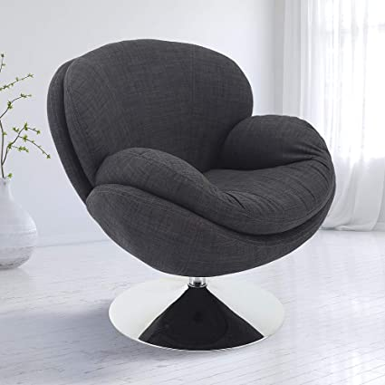 Amazon Com Relax R Strand Fabric Leisure Accent Chair In