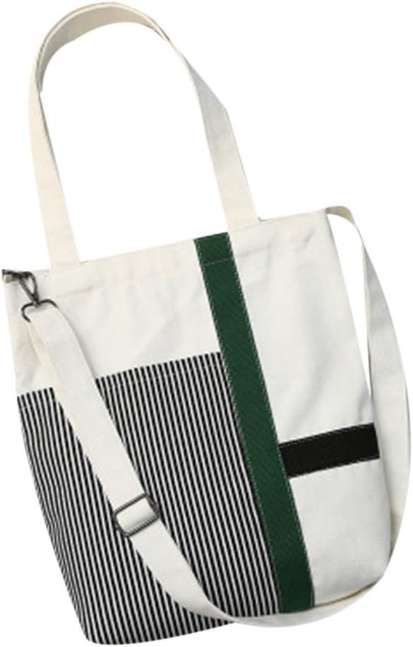 Women Canvas Handbags Crossbody Messenger Bags Totes Shoulder Bag Bookbag 1#