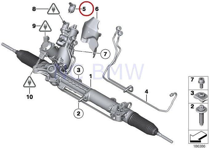 Amazon.com: BMW Genuine Torque Converter Servotronic: Automotive | Bmw E60 Wiring Diagram Servotronic |  | Amazon.com