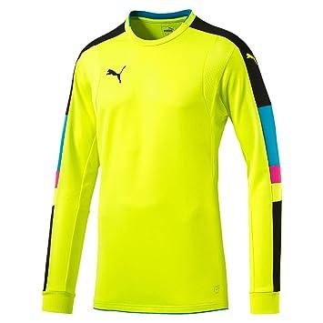 promo code 12b0b 6df77 Puma Niños de Torneo de Portero, para Hombre, Tournament Gk Shirt, Neon  Yellow