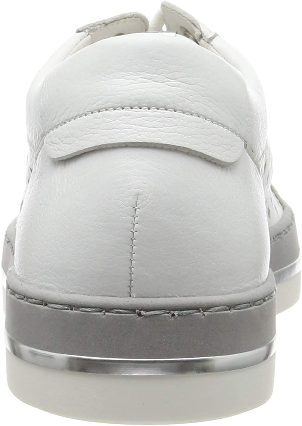 Gabor Women's Low-Top Sneakers White Weiss Silber 21