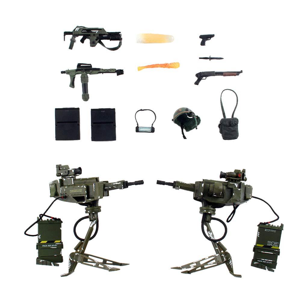 INJORA RC Crawler Weapon Zubehör Dekoration für 1 10 Axial SCX10 Wraith Traxxas TRX-4 RC4WD D90 D110 Tamiya CC01, 14 Stück   Satz B07G8X8H22 Zubehör Schön geformt | Up-to-date-styling