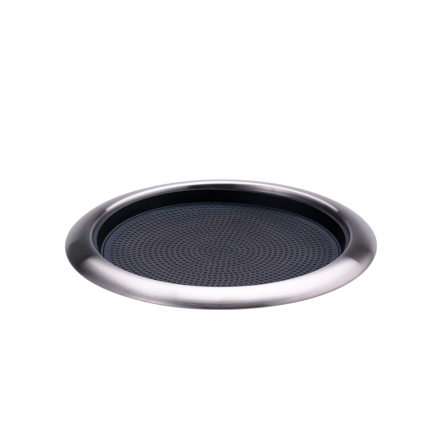 Service Ideas TR1412RI Tray, 18/8 Stainless Steel, Removable Insert, 14'' x 12'' by Service Ideas