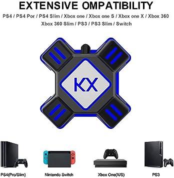 navigatee Adaptador Convertidor De Teclado Y Ratón,Convertidor De Teclado Y Ratón Teclado Y Ratón USB Adaptador Game Controller Adapter para PS3 PS4 Xbox One Switch Apex 90.17X90.17X27 Mm: Amazon.es: Electrónica