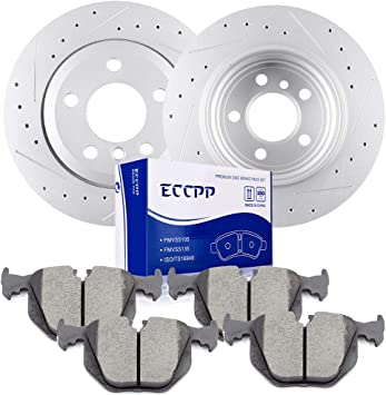 For 2004 2005 2006 2007 2008 2009 2010 2011 BMW X3 E83 F25 Front Brake Rotors