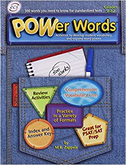 POWer Words for Grades 9-12: 500 Words You Need to Know for Standardized Tests