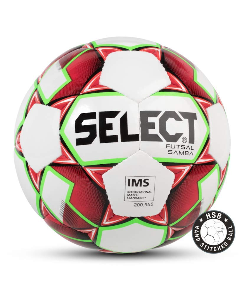 Select Talento Ballon de Futsal Adulte Unisexe, White/Red, Official Size
