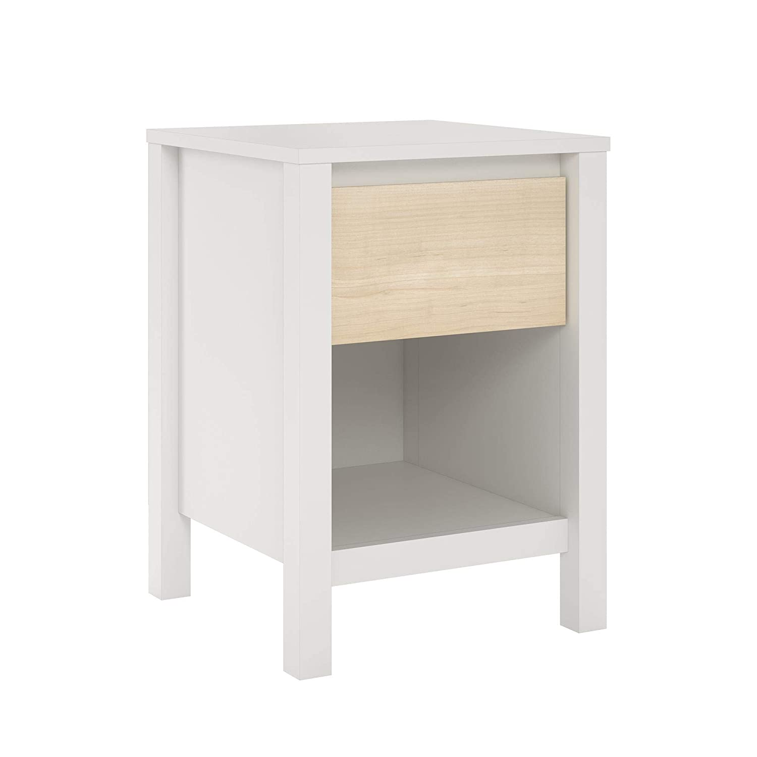 Amazon.com: Novogratz 5771219COM Addison Nightstand, Madera ...