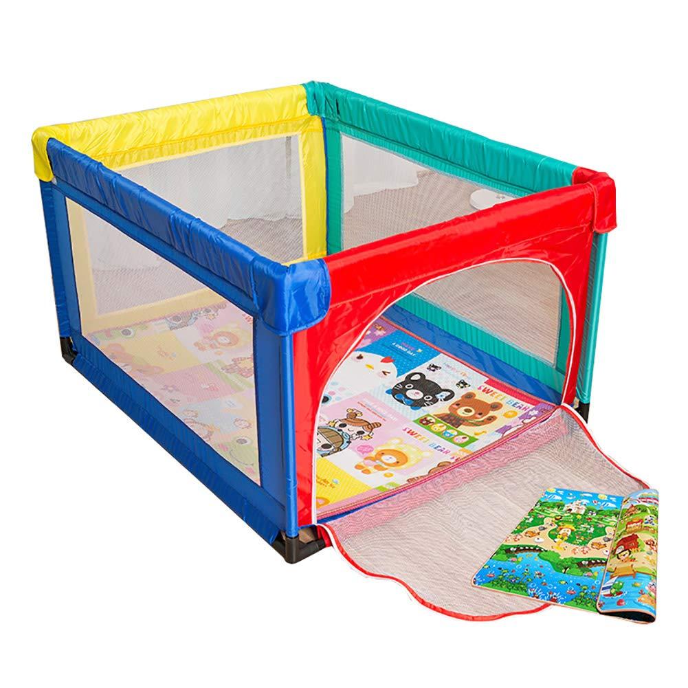 有名ブランド 乳幼児のためのマットレスフルサイズのポータブルプレイグラウンドを持つ赤ちゃんの遊び場アンチコリジョンエクストララージキッズ遊び場 95×120cm) (サイズ さいず 95×120cm さいず : 95×120cm) 95×120cm B07JVMDMTN, Afternoon Tea TEAROOM Web Store:45e16ca1 --- a0267596.xsph.ru