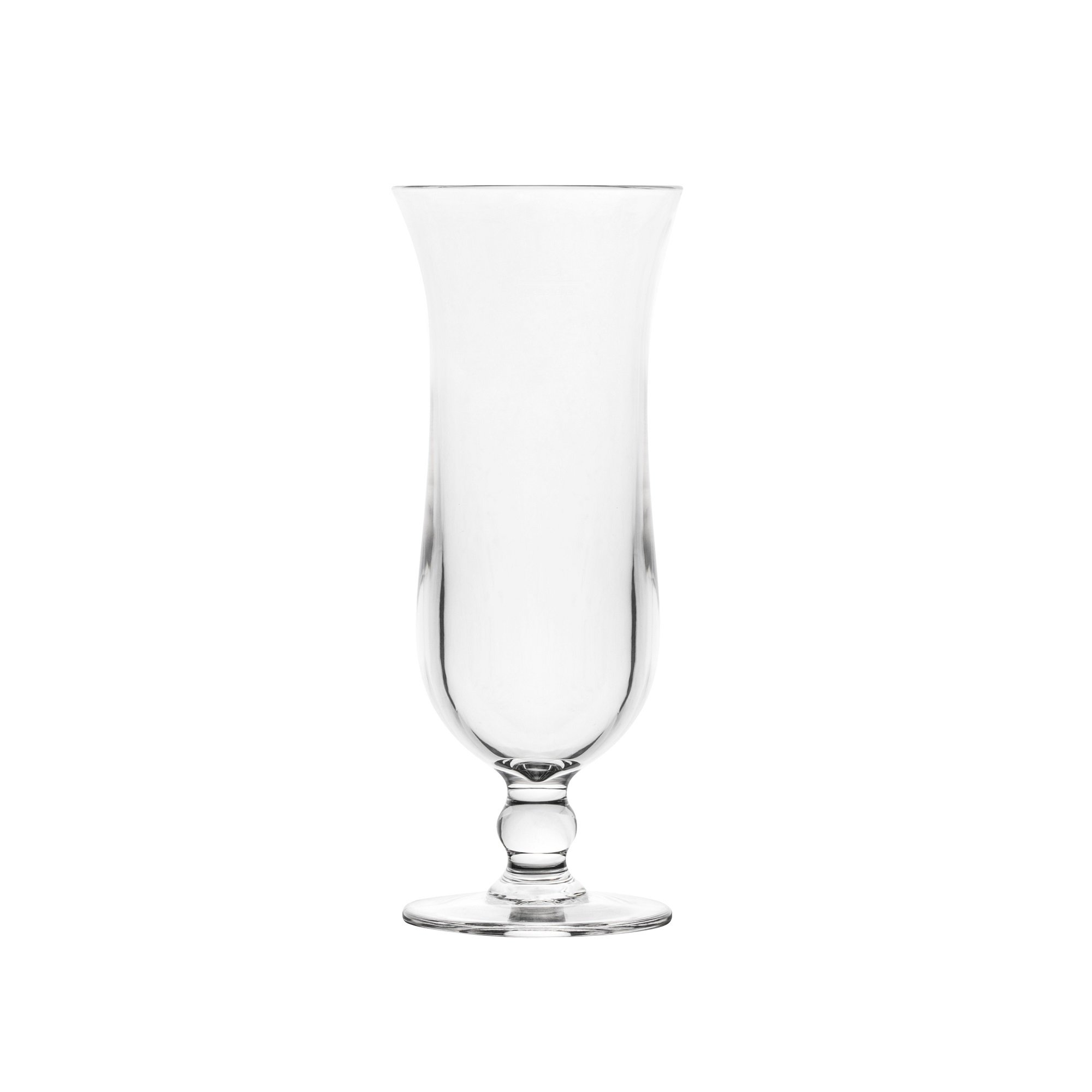 Blazun PS-A26 Unbreakable Polycarbonate Hurricane Cocktail Barware (Set of 6), 13.5 oz, Clear