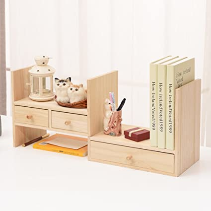Amazon Com Jx Boos Solid Wood Bookshelf Creative Simple Wooden