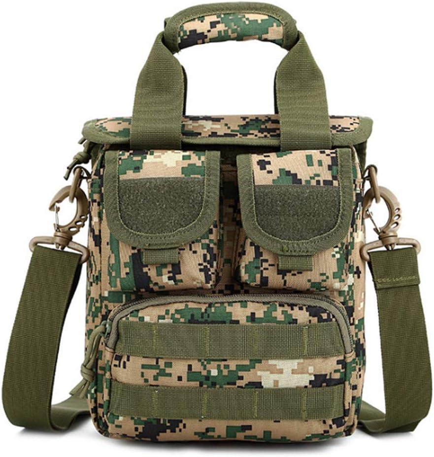 SKPVX High Mens Messenger Waterproof Multi-Function Canvas Crossbody Military Outdoor Shoulder Bag Travel Bags